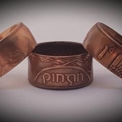 Irish Penny Coin Ring