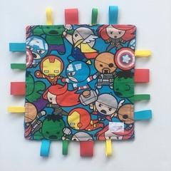 Baby Superheroes taggie comforter | baby gift | baby shower | newborn