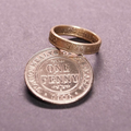 Australian Penny Coin Ring