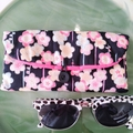 PADDED POUCH - BLACK - UME / Glasses case