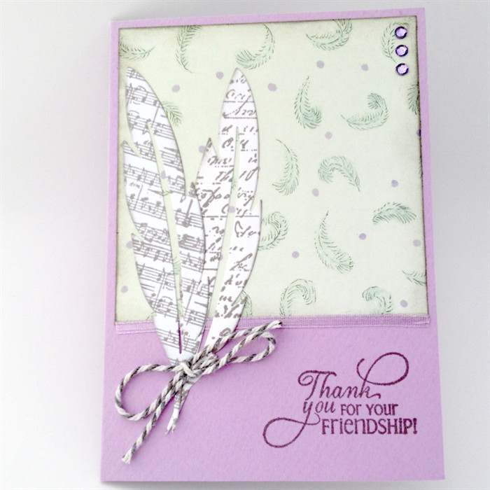 Thank You For Your Friendship Card Cards Made By Karen Madeitcomau