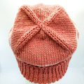 Knit wool beanie, womens hats