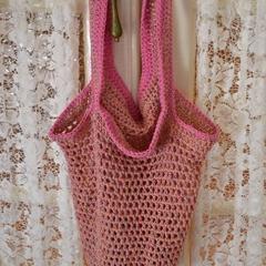 Crochet String Market Bag