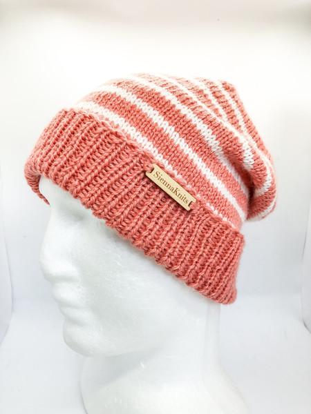 Knit wool beanie, womens hats