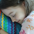 Rainbow Ric Rac cushion/pillow cover.