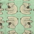100% Organic Muslin baby Wrap -Koala Print