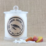 Coconut & Peach, tropical scented Soy wax candle