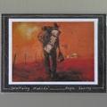 Three Mini Aussie Masterpieces Fridge Magnets Set 1