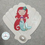 Edible hand crafted Mermaid cake topper  Ready to post
