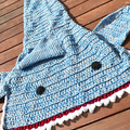 Shark Tail Blanket, tail blanket, Teen, Crochet shark