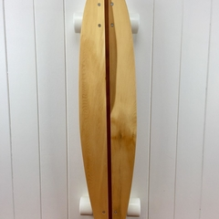 Handmade solid timber skateboard - King Billy Pin-tail