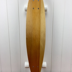 Handmade solid timber skateboard - Kauri - Junior Pin-tail