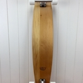 Handmade solid timber skateboard - Kauri Large V-tail