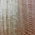 Handmade solid timber skateboard - Vic Ash - Small Flat-tail