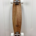 Handmade solid timber skateboard - Vic Ash Pin-tail