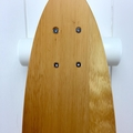 Handmade solid timber skateboard - King Billy Flat-tail