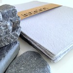 Stone Light Grey - Handmade Paper