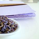 Lavender - Handmade Paper