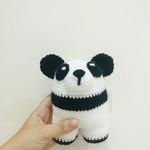 Baby Rattle, Panda Rattle, Baby Panda Rattle, Baby Toy, Baby Girl Toy, Baby Boy