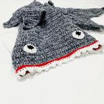 Shark Tail Blanket, tail blanket, Toddler/Small Child, Crochet shark