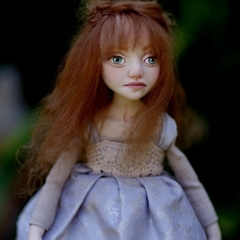 Emily - One of a Kind Collectible Art Doll - Polymer Clay