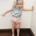 Baby girl girls Seaside top shirt blouse size 000-2