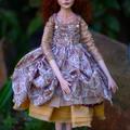 Josette - Collectible Porcelain Art Doll