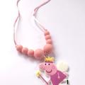Washable Kids Jewellery - Peppa Pig