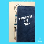 THINKING OF YOU - bookmark