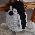 Peewee the hand crocheted penguin by CuddleCorner:christmas, OOAK, christmas
