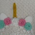 Unicorn Dreamcatcher, READY TO POST, Dreamcatcher, Crochet Gift, Girl Gift