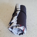 Bike Roll-up Reusable Shopping Tote - Free Postage