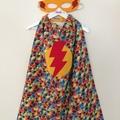 ~ Basic Superhero Set - READY TO POST ~ Cape & Mask ~