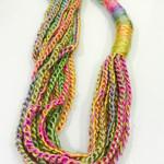 Modern chain infinity scarf, women scarf, crochet scarf, infinity scarf, chain s