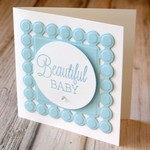 Cards / Baby / Handmade Card / Baby Girl / Baby Boy / Baby Shower / Welcome Baby