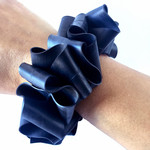 Bracelet made from recycled bicycle inner tubes. Size Female XS