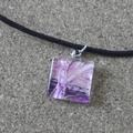 Pauline - small painted pendant