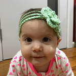 Flower Headband, baby headband, girl headband, mommy and me headband, all sizes,