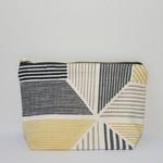 Boxed zipper pouch