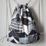 Unlined drawstring backpack