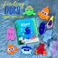 Finding Dory Finger Puppet Set