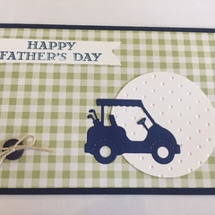 Golf Father's Day Card - free postage