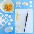 Calendula Petals- Handmade Paper