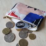 Bright tulip design coin purse