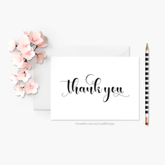 Custom Thank You Card | Personalised Card | Wedding Thank You