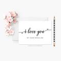 Personalised Anniversary Card | Custom Valentine Card | Wedding Card