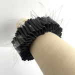 Bracelet made from recycled bicycle inner tubes. Female Medium / Male Small