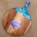 Resin Cheeseboard - custom poured in your choice of colours.