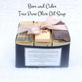 Beer and Cider Pure Olive Oil Trio Soap Pack ( less than 400g net weight)