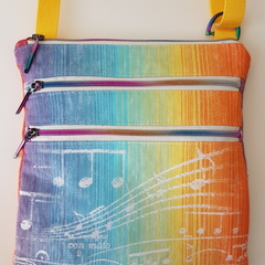 Rainbow Symphony crossbody bag